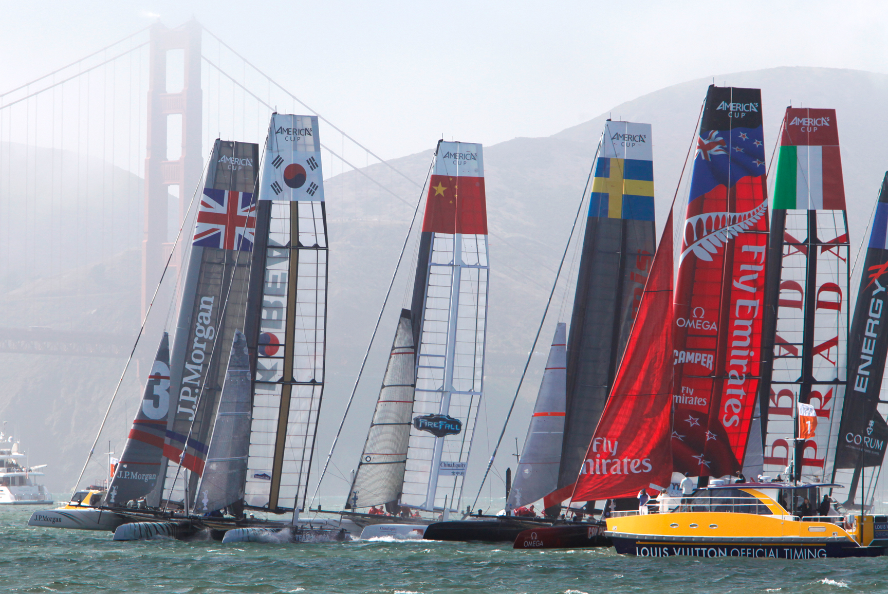 America's Cup World Series in San Francisco 2013