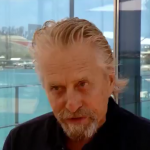 Michael Douglas on Bermuda & America's Cup May 27 2017
