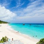 Take A Walk Around the Glowing Coloured Beaches of Bermuda